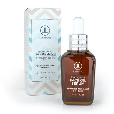 LimberLux Bakuchiol Face Oil Serum 30ml