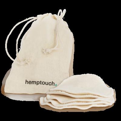 Hemptouch Herbruikbare Wattenschijfjes 5st.