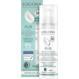 Logona PUR Extra Kalmerend Hydraterend Serum 30ml