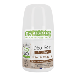 SO'BiO étic 24h Deo Roll-On Coconut 50ml