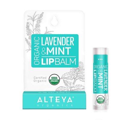 Alteya Organics Organic Lavender & Mint Lip Balm 4.5g