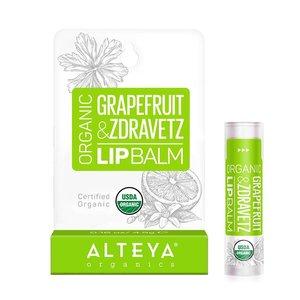 Alteya Organics Organic Grapefruit & Zdravetz Lip Balm 4.5g