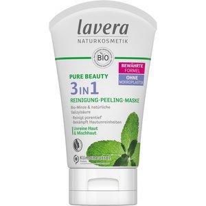 Lavera Pure Beauty 3in1 Wash, Scrub  Mask 125ml
