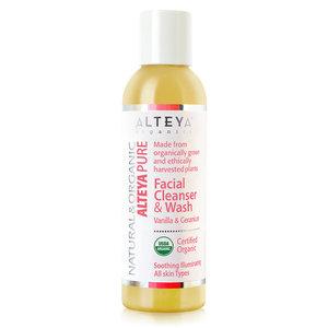 Alteya Organics Facial Cleanser & Wash Vanilla & Geranium 150ml