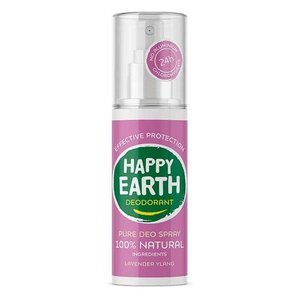 Happy Earth Pure Deo Spray Lavender Ylang 100ml