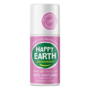 Happy Earth Pure Deo Roll-On Lavender Ylang 75ml