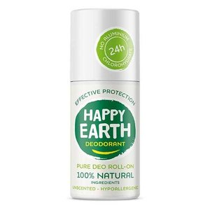 Happy Earth Pure Deo Roll-On Unscented 75ml