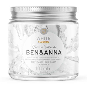 BEN&ANNA Toothpaste White with Fluoride 100ml