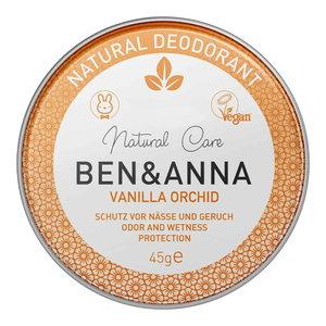 BEN&ANNA Natural Deodorant  Vanilla Orchid 45g