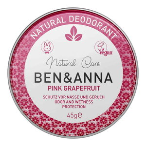 BEN&ANNA Natural Deodorant Pink Grapefruit 45g