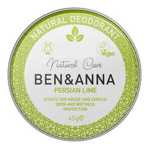 BEN&ANNA Natural Deodorant Persian Lime 45g
