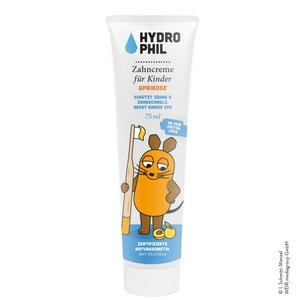 Hydrophil Kindertandpasta Abrikoos met Fluoride 75ml