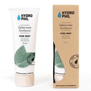 Hydrophil Tandpasta Pure Mint met Fluoride 75ml
