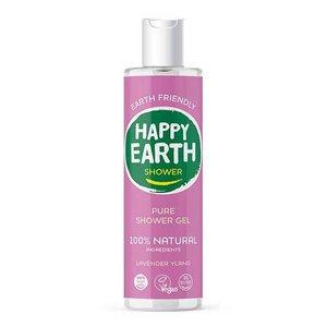 Happy Earth Pure Shower Gel Lavender Ylang 300ml
