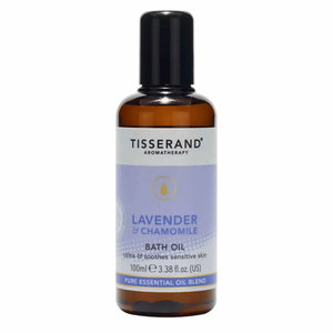 Tisserand Lavender & Chamomile Bath Oil 100ml