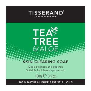 Tisserand Tea Tree & Aloe Skin Clearing Soap 100g