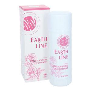 Earth-Line Rose Long-Lasting Deodorant 50ml