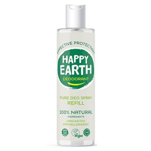 Happy Earth Pure Deo Spray Refill Unscented 300ml