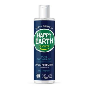 Happy Earth Pure Shower Gel Men Protect 300ml