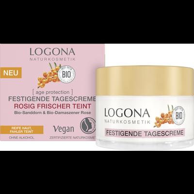 Logona [age protection] Verstevigende Dagcrème Rozig Frisse Teint 50ml