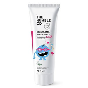 The Humble Co. Natural Toothpaste Kids Strawberry with Fluoride 75ml