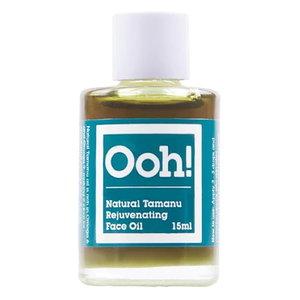 Ooh! Natural Tamanu Rejuvenating Face Oil 15ml