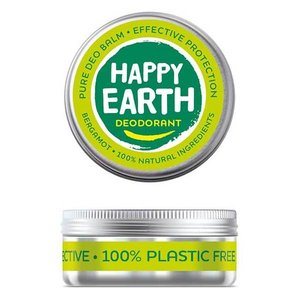 Happy Earth Pure Deo Balm Bergamot 45g