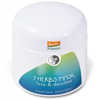 Martina Gebhardt 7 Herbs Mask Face and Décolleté 100ml