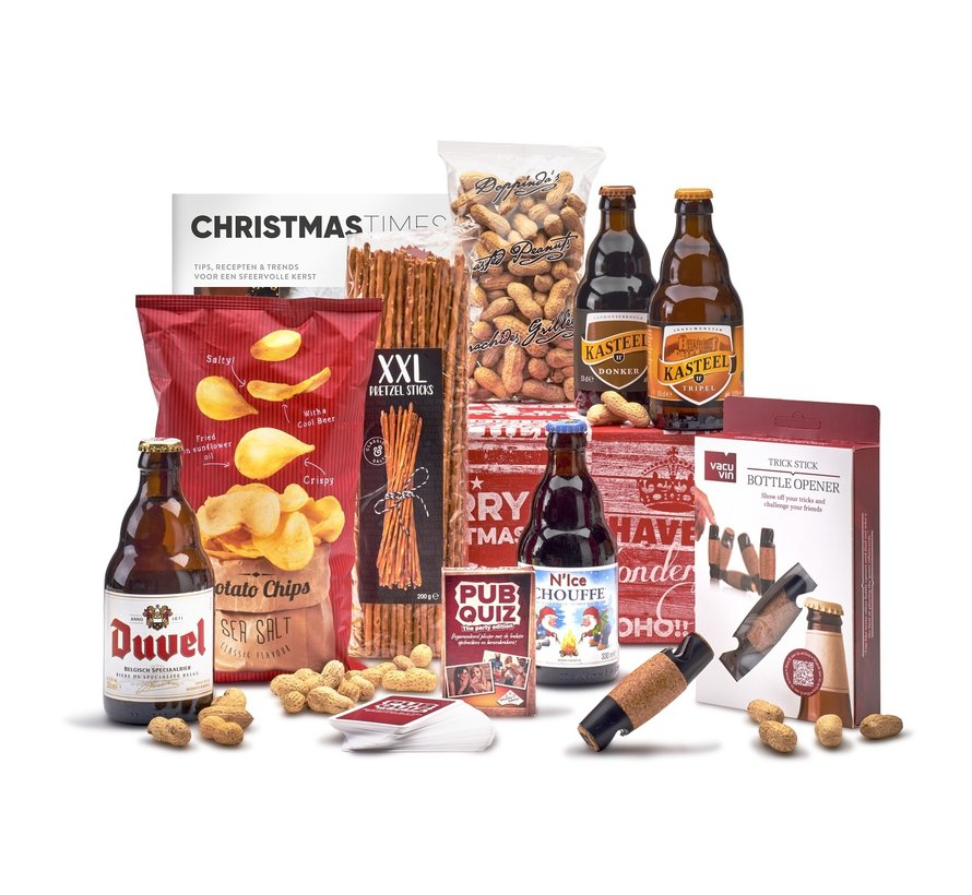 Kerstpakket Borrelavond - 9%