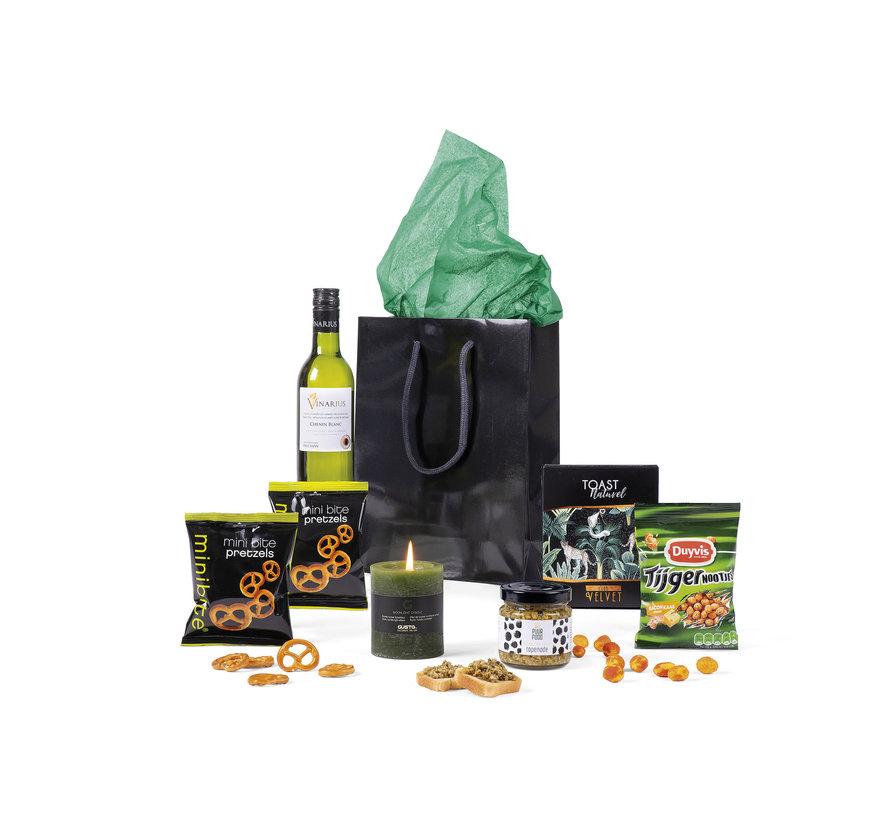 Kerstpakket Black Bag - Per 4 stuks - 21%