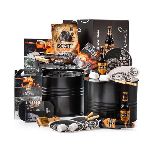 Kerstpakket BBQ Barrel - 9%