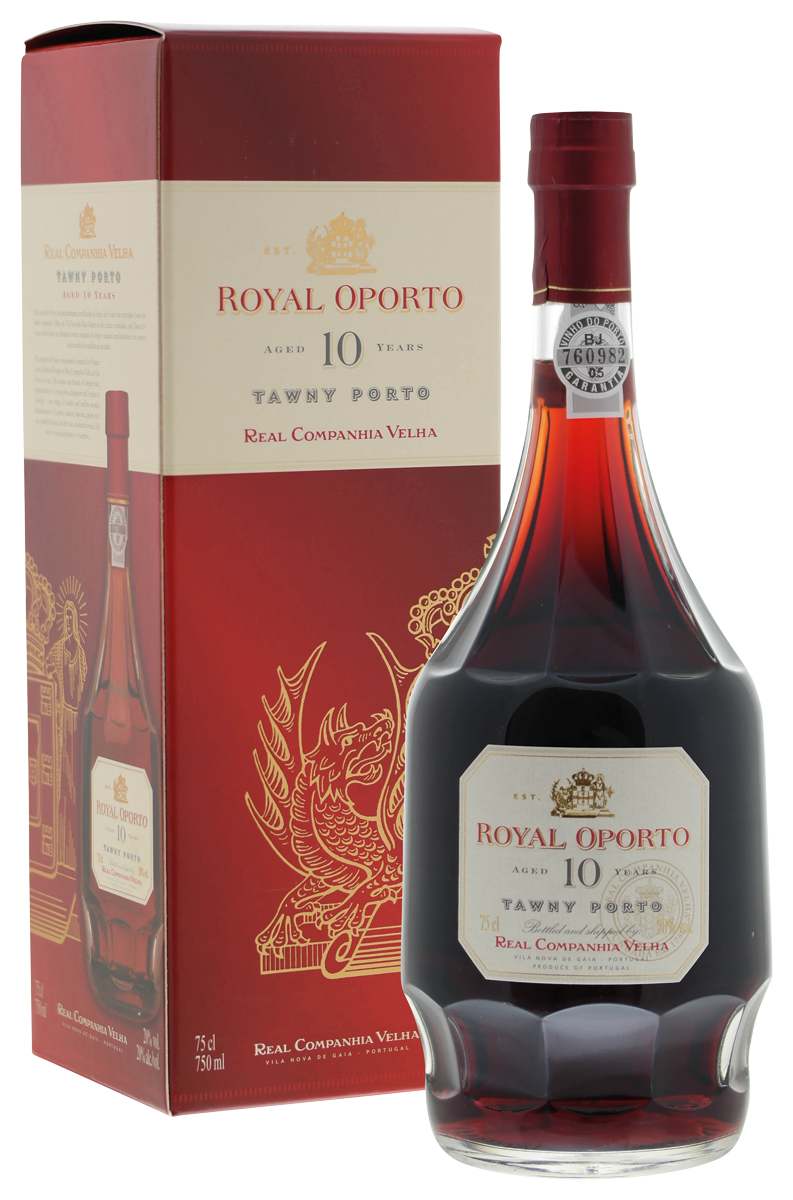Royal Oporto 10 years old in luxe doos