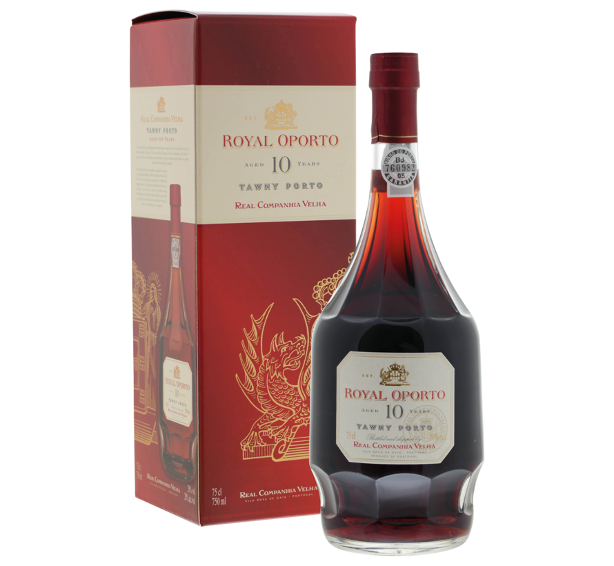 Royal Oporto 10 years old in luxe doos - 21%