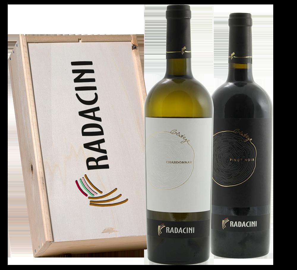 Radacini Vintage Chardonnay / Pinot Noir