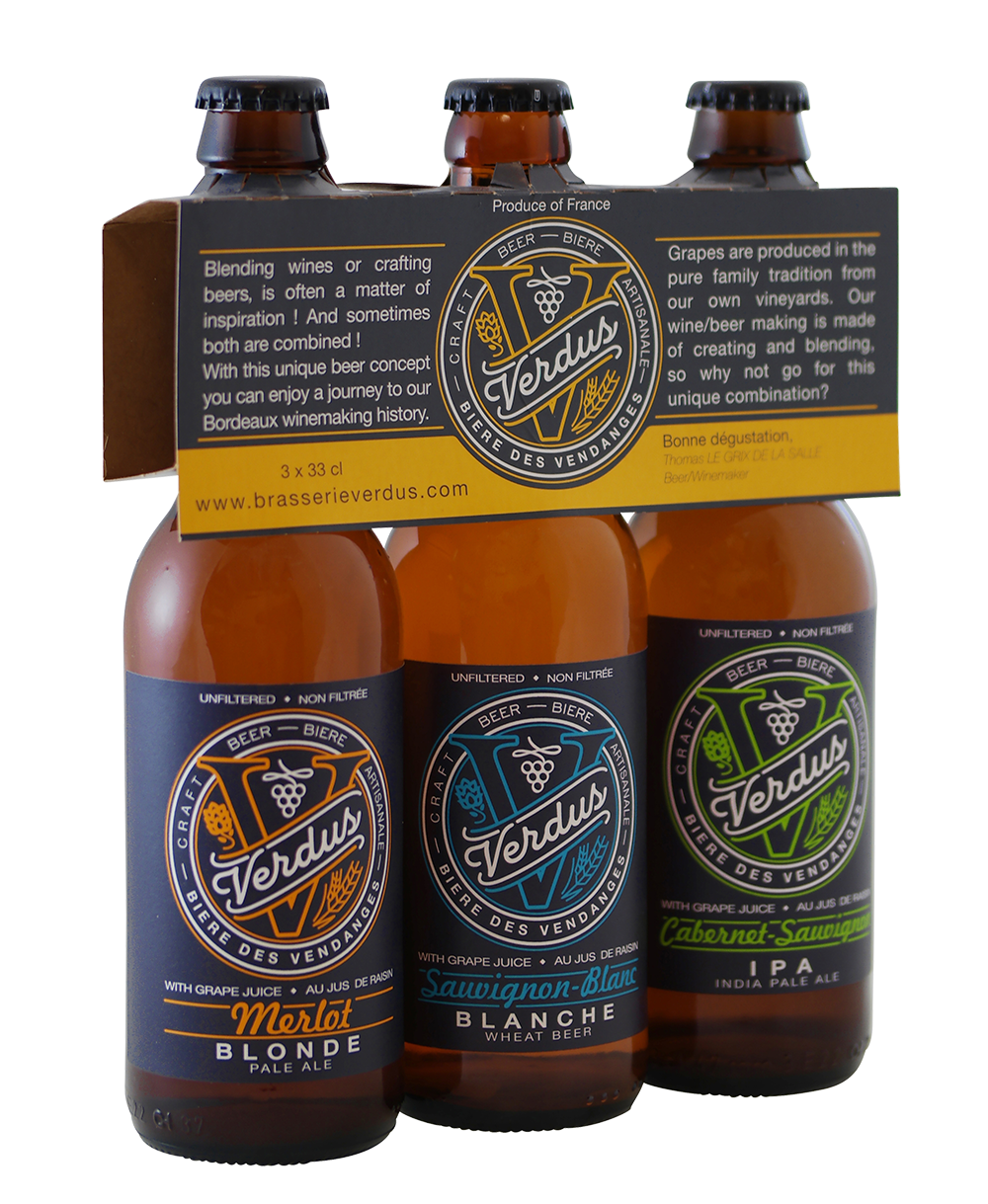 Brasserie Verdus bier selectie