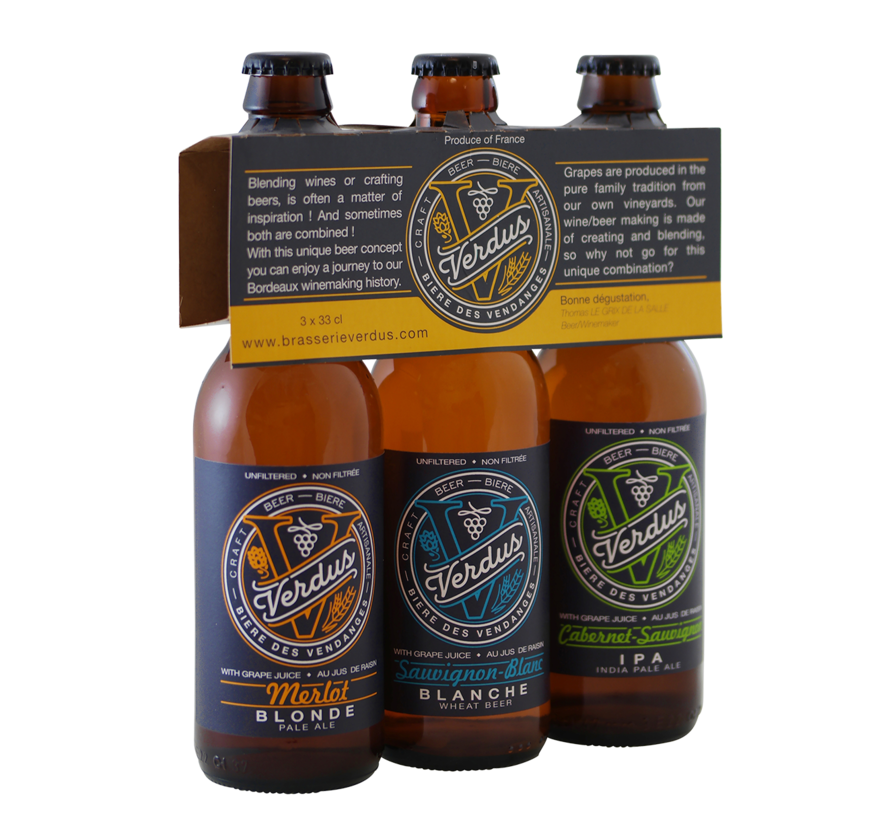 Brasserie Verdus bier selectie - 9%
