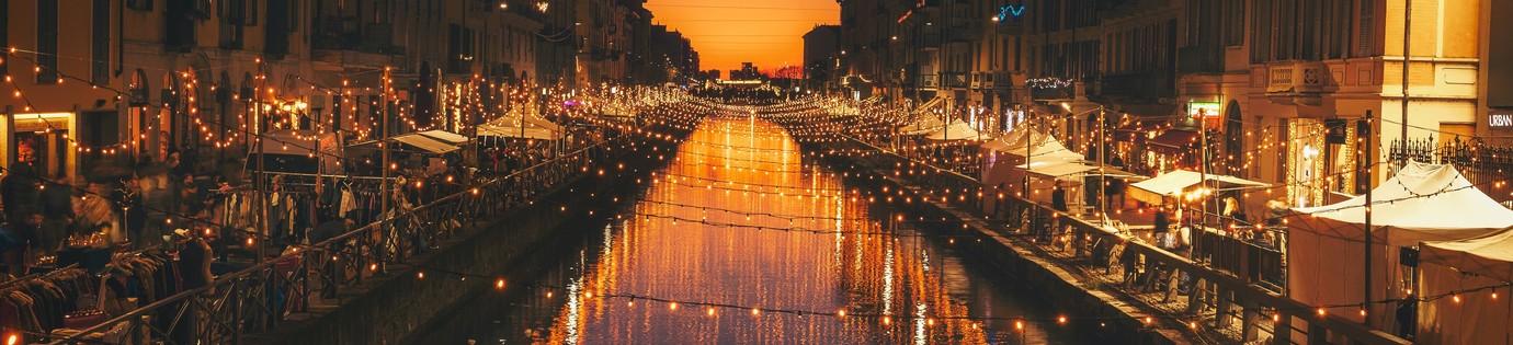 Leukste steden met kerst