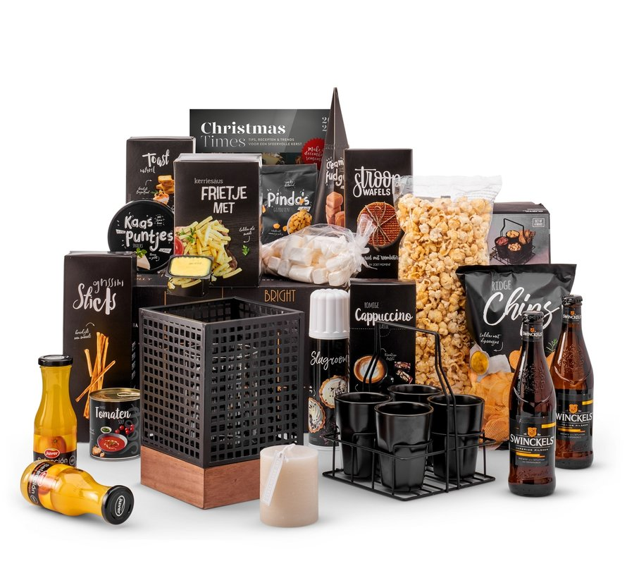 Kerstpakket Lovely black - 9% BTW