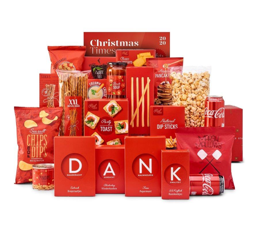 Kerstpakket Rode kerst - 9% BTW