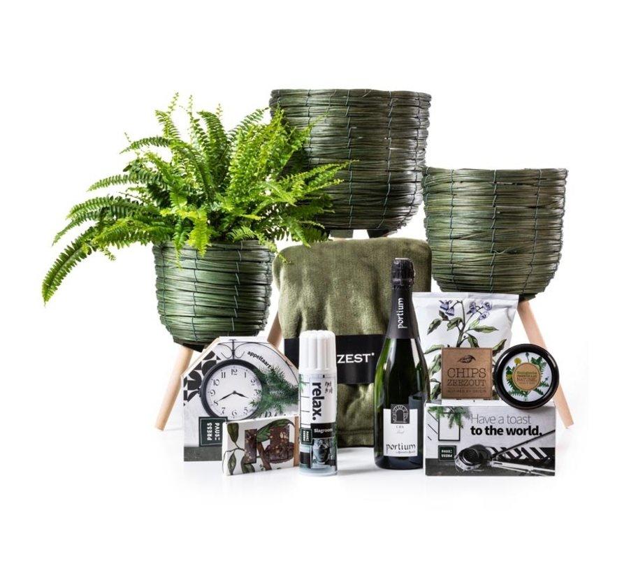 Kerstpakket Botanisch Groen