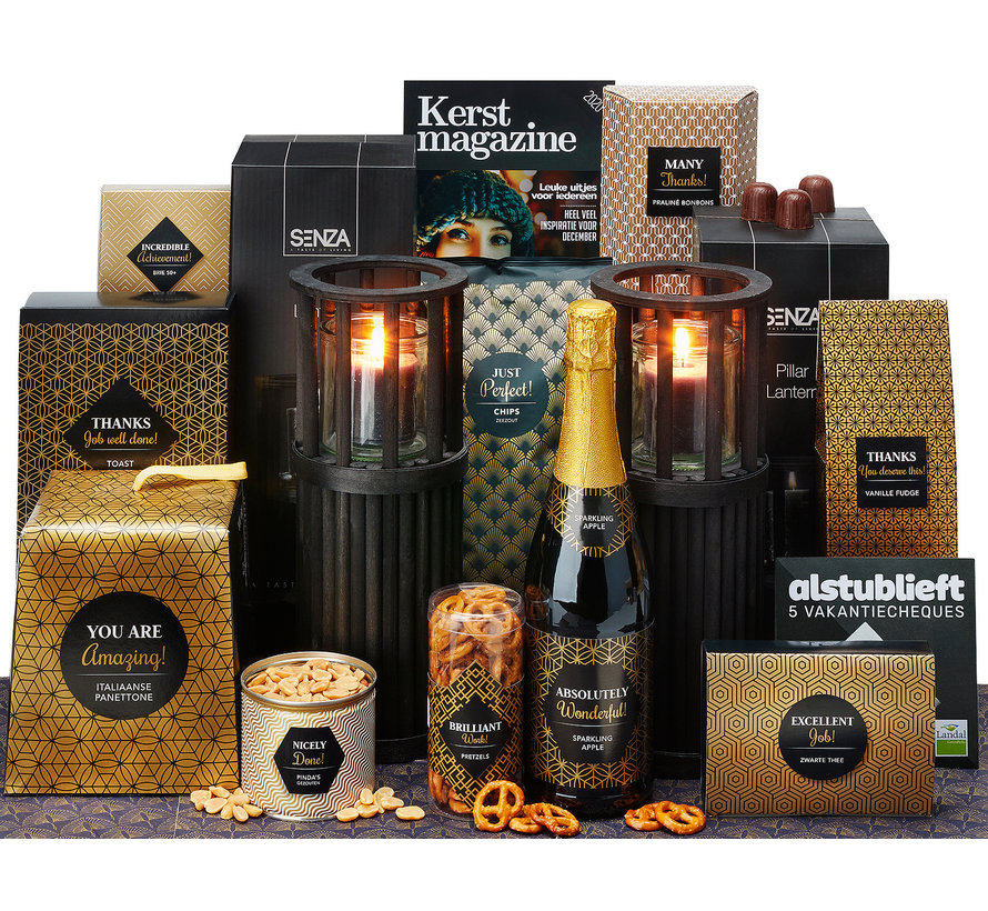 Kerstpakket Many thanks - 21% BTW
