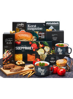 Kerstpakket Soup of the day