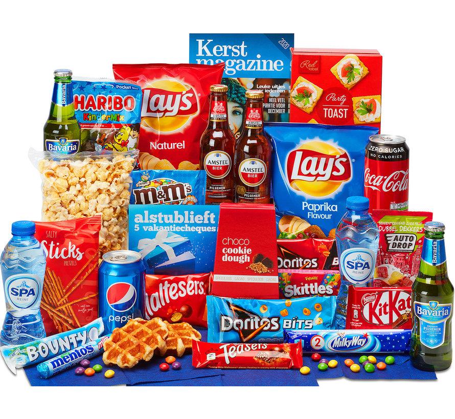 Kerstpakket Met de hele familie - 21% BTW
