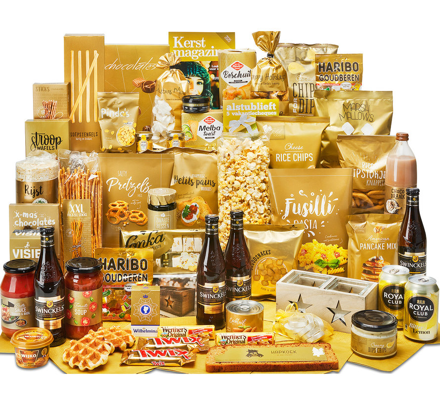 Kerstpakket Uitnodigend - 21% BTW