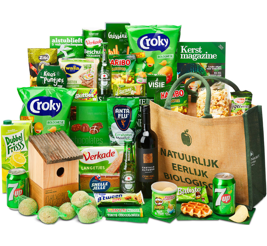 Kerstpakket Kiekeboe - 9% BTW