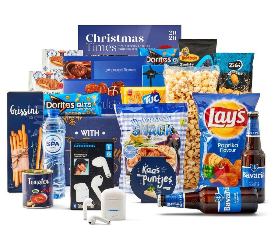 Kerstpakket Feeling blue - 21% BTW