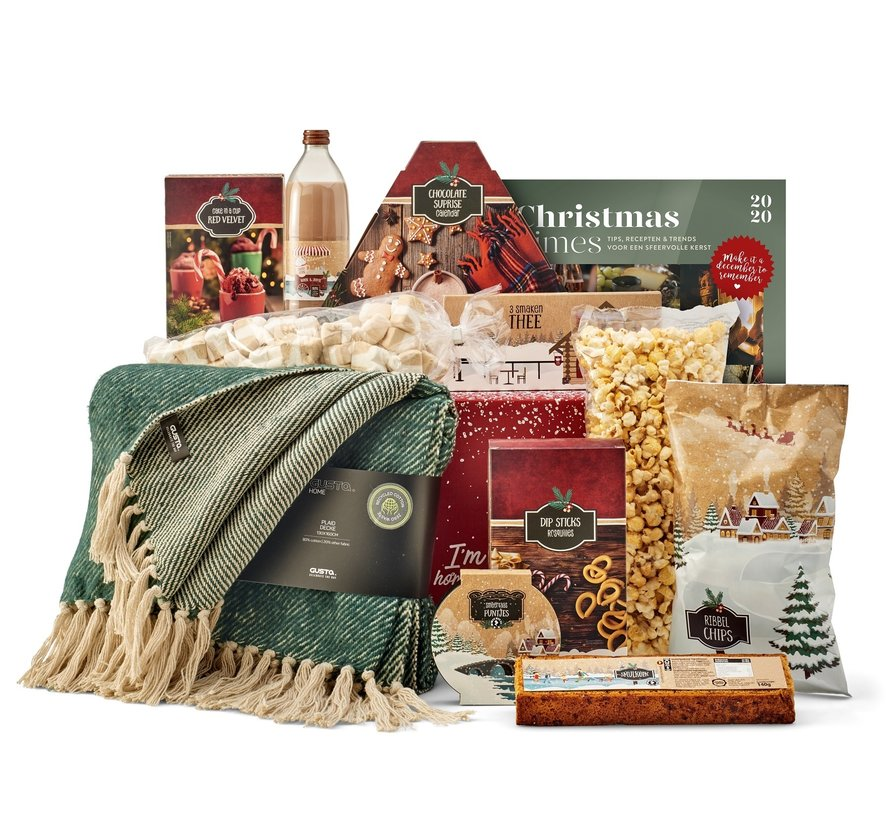Kerstpakket Gezelligheid - 21% BTW