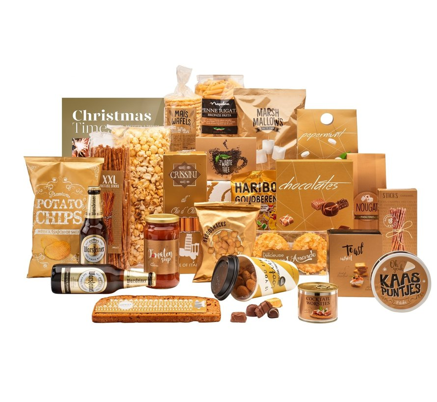 Kerstpakket Gouden pracht - 21%