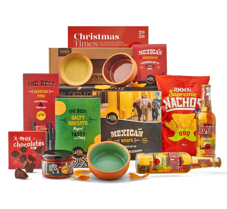 Kerstpakket Mexicooo - 21% BTW