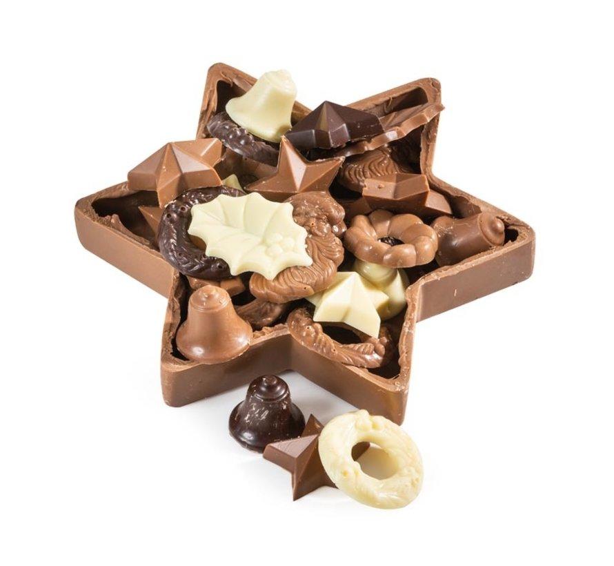 Kerstpakket Choco Ster - 21% BTW
